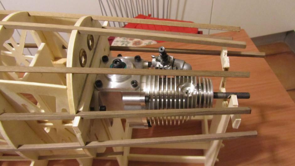 abbondanza di spazio del vano motore, permette il posizionamento dell'RCV