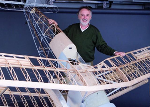 Quando l aeromodellismo diventa arte by paolo severin for Creare piani di costruzione