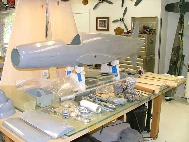 Dornier 335 pfeil scala 1 5 5 by evans rcaeromodellismo for Kit per il portico anteriore