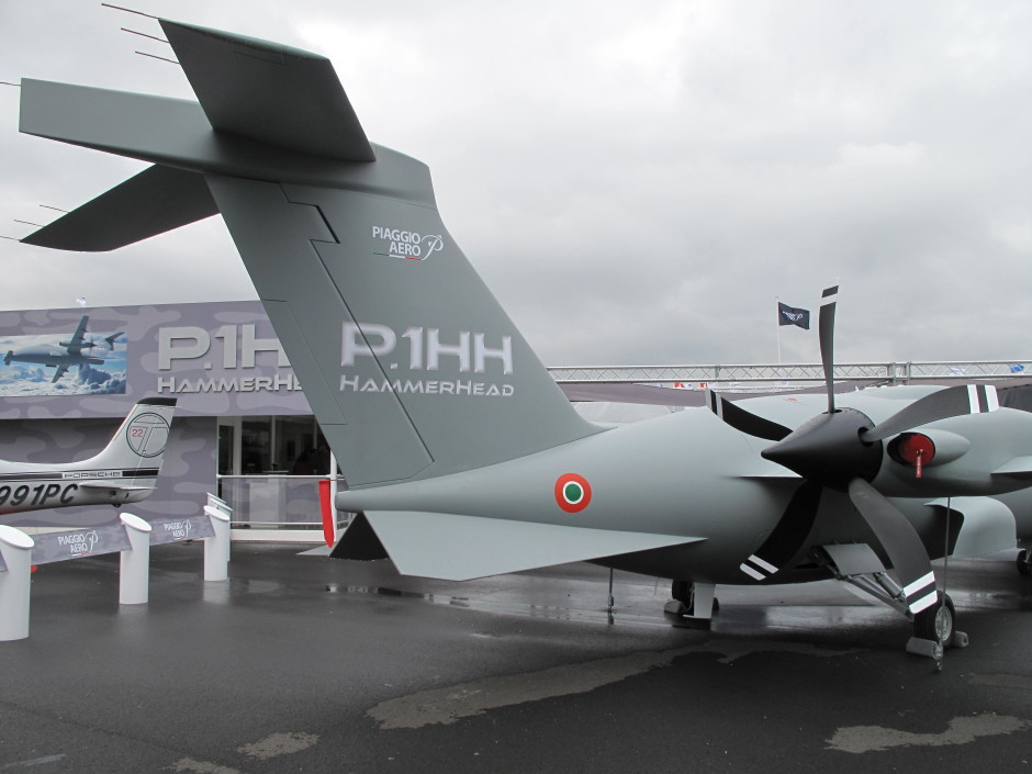 Piaggio_P.1HH_HammerHead_at_Paris_Air_Show_2013_3