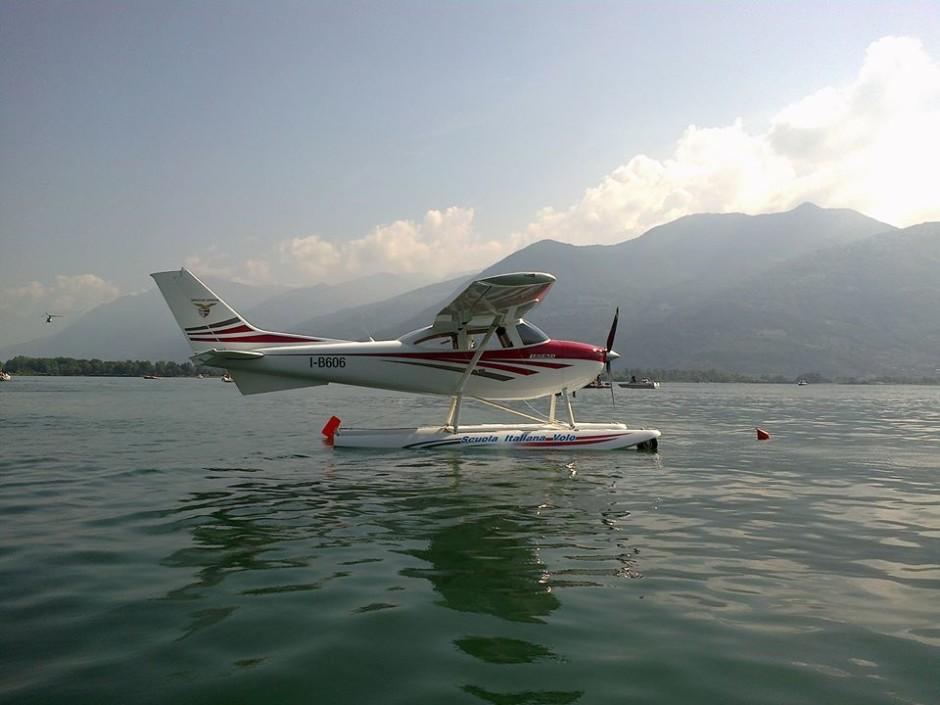 Idrovolante Legend_pilota Graziano Mazzolari